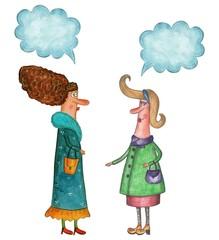women conversation