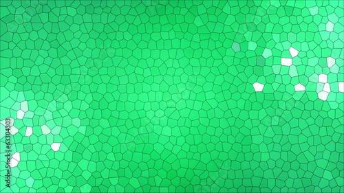 Green stained glass background