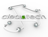 Cleantech Word Renewable Power Energy Resource Business