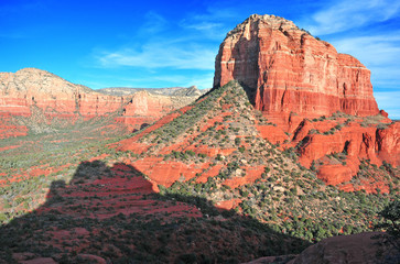 Red rock landscape, Sedona Arizona, USA