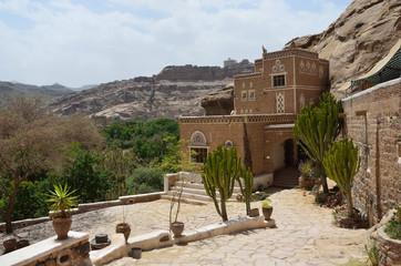 Йемен, дворец имама в Сане, вспомогательные постройки