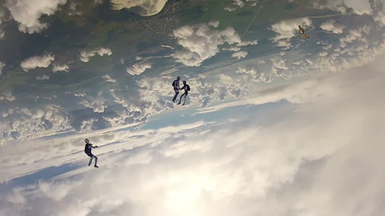 Skydiving video
