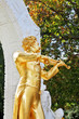 The  statue of Johann Strauss, playing the violin