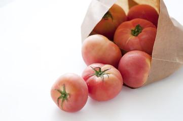 トマト 紙袋