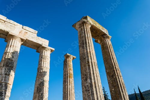 Pillars of ancient Zeus temple