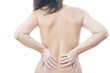 Pain in female backache