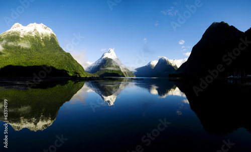 Mountains In New Zealand - 63314199