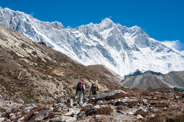 Lhotse peak, Everest region, Nepal
