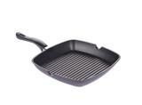 black frying grill pan
