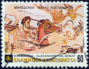 Alexander the Great at the battle of Issus (Greece 1992)