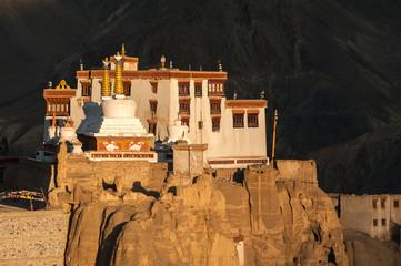 Lamayuru or Yuru Gompa, a Tibetan Buddhist Gompa,India