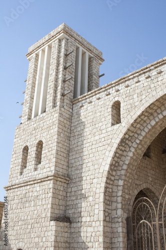 Arabic Fort gate Tower