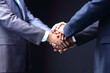 Business handshake. Great business deal.  teamwork concepts
