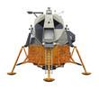 Leinwandbild Motiv Apollo Lunar Module