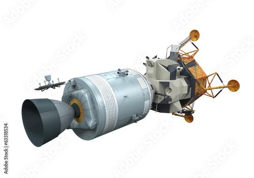 Apollo Module Docking - 63318534