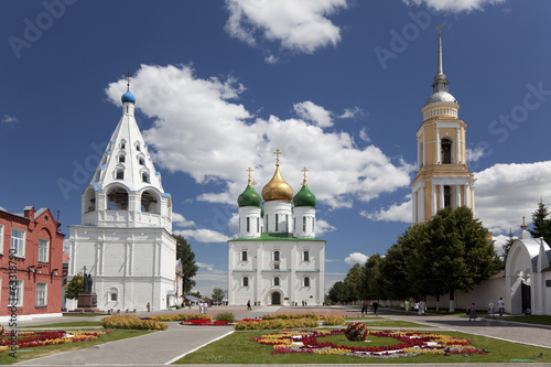 The architectural ensemble of the Kremlin. Kolomna. Russia