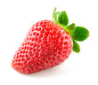 Strawberry berry isolated on white background