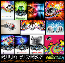 Stunnig Disco Club Flyers collecton