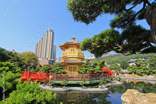 Nan Lian Garden, in Diamond Hill, Hong Kong.