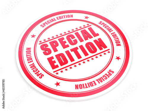 Special Edition red stamp