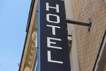 Façade d'hotel