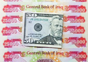 Iraqi Dinars and American Dollar