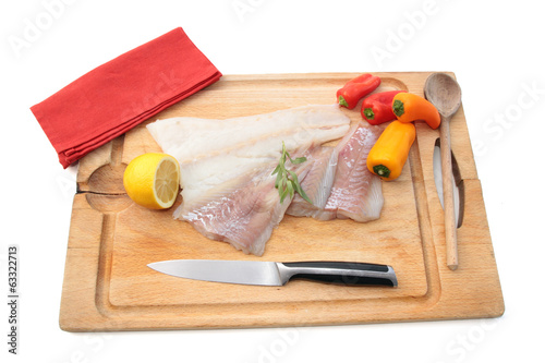 filets de poissons