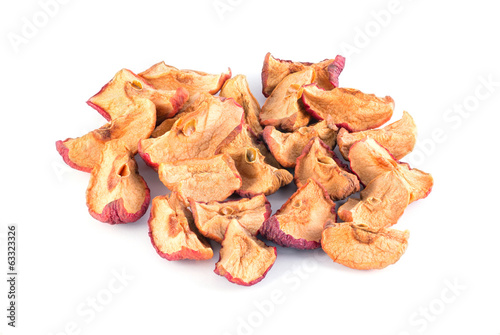 Lots of dried apples