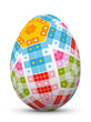 Osterei, Ei, Ostern, Muster, Easter Egg, Pattern, Design, 3D