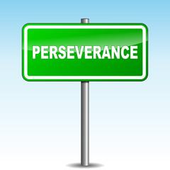 Vector perseverance signpost