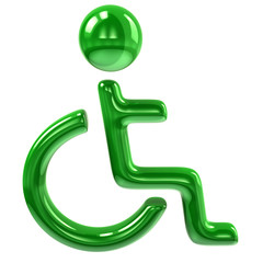 Green handicap icon