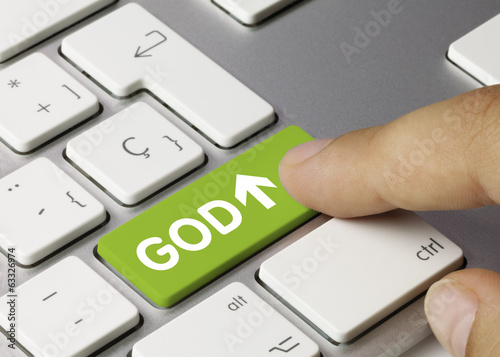 GOD. Keyboard