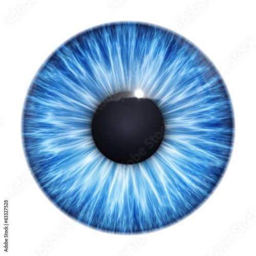 Tuinposter Textures blue eye texture