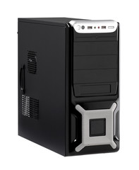High technology desktop computer with high speed CPU isolated