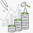 Gewinne und Wachstum
