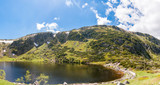 Panoramic view on Cirque of the Small Pond