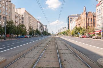 Marszalkowska Street in Warsaw