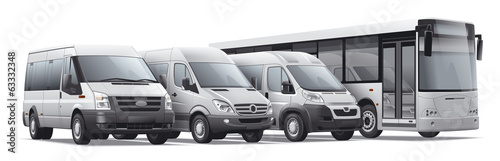 Commercail passenger transport. - 63332348