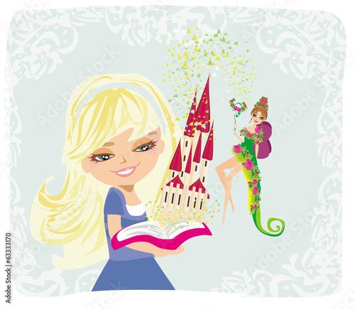Dreaming about fairytale castle © diavolessa