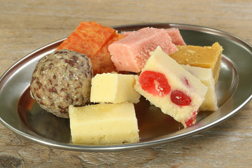 Indian Confectionary selection