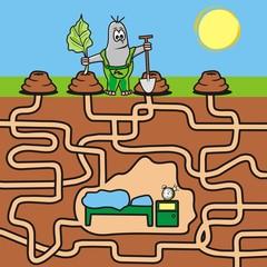 maze-mole