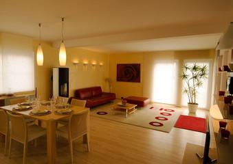 Wohnzimmer - Haus- modern