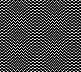 Zick-zack Muster in schwarz weiß