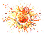 Fototapety sun