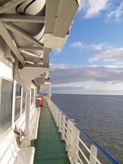 Boottocht op de zee