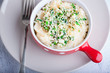 Fish pie with celery root