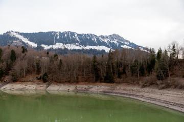 Lac de Montsalvens, Suisse