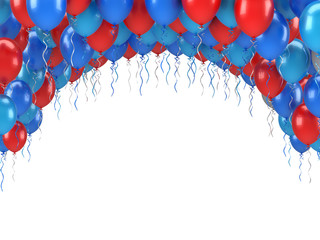 Colorful Party Balloons Banquet