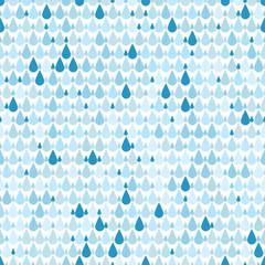 Rain. Seamless background.