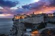 Leinwandbild Motiv Corse Ville de Bonifacio